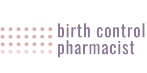 Birth Control Pharmacist Logo Horizontal