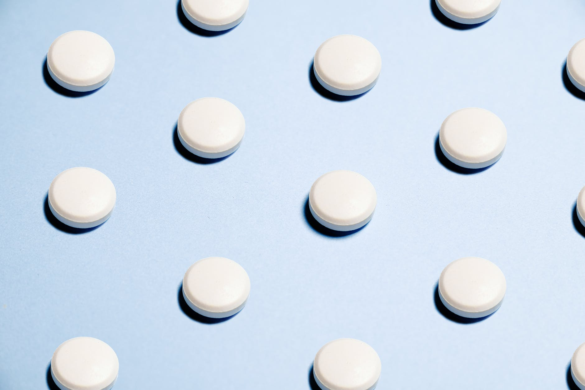 white round capsules