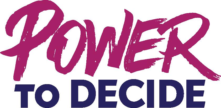 Power to Decide Logo